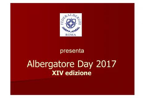 Albergatore Day a Roma, il 25 gennaio con Federalbergi