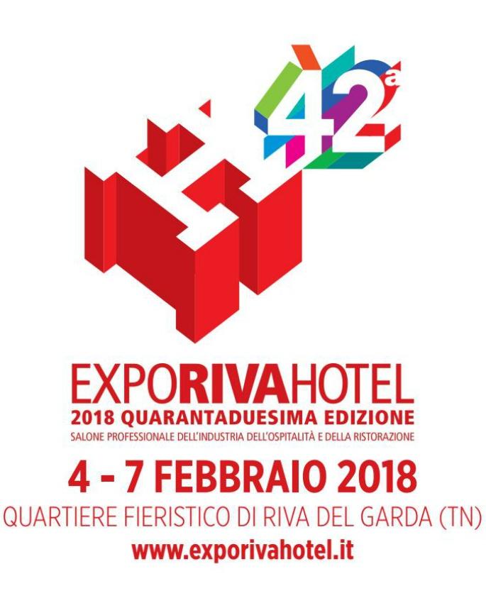 Expo Riva 2018, dal 4 al 7 febbraio a Riva del Garda