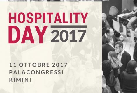 Hospitality Day 2017, 11 ottobre Rimini