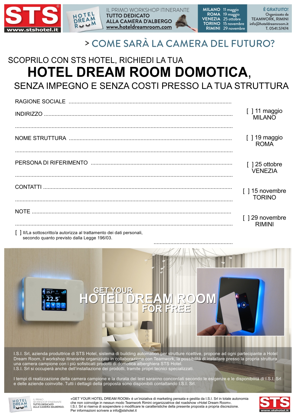 GET YOUR hotel dream room FOR FREE