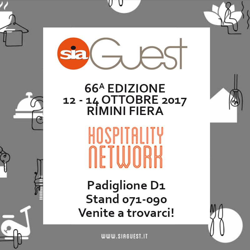 SIA GUEST 2017, 12-14 ottobre Rimini Fiera