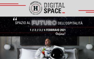 Hospitality Digital Space dal 1al 4 Febbraio 2021